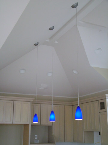 if those blue pendant lights awesome pendant lighting sloped ceiling